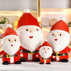 25cm 30cm 50cm Santa Claus Docka Jul fylld Plush Toy Söt Gåva