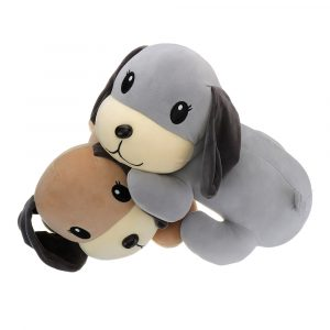 "45cm 18 ""Stuffed Plush Toy Lovely Puppy Dog Kid Friend Sleeping Toy Gift"