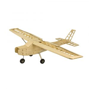 Cessna 152 T2001 1200mm Wingspan Balsa Wood Airplane RC Flygplan KIT