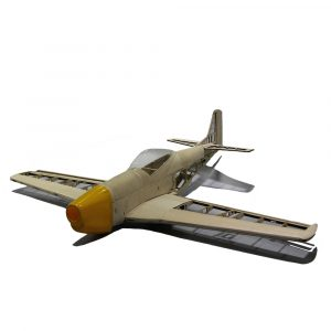 Mustang P51 1000mm Wingspan Balsa Wood Warbird RC flygplan kit