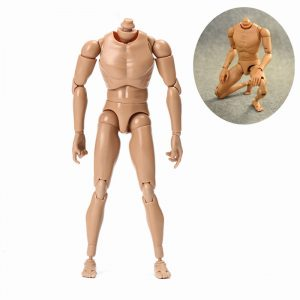 10,63 '' 27cm 1/6 Action Figur Kroppsuppgradering Modell Toy Gift Collection Ball Joint Posture Adjustable