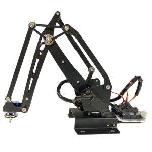 DIY Pump RC Robotarm ABB Industrial Robot Art Med Digital Servo För Arduino / 16-vägs Bluetooth Control