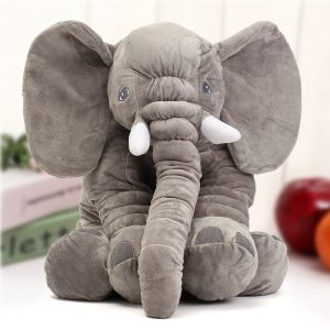 "23,5 ""60cm Söt Jumbo Elephant Plush Docka Fylld Animal Soft Kids Toy Gift"