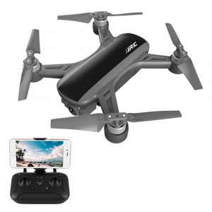 Drönare,FPV med 1080P kamera Drönare,JJRC X9 Heron GPS 5G MiFi , Optisk Flödesplacering RC Drönare Quadcopter RTF Svart Ett Batteri