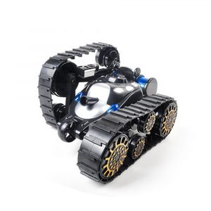 Yundi 666-888 Wireless Control Rc Stunt Tank 360 ° rotationsbil med LED Ljusleksaker