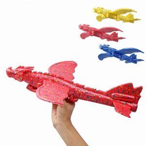 48cm Tröghetsskum EPP-Plane Toy Kinesisk Dragon Hand Starta Glidande Flygplan
