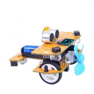 XIAO R DIY Smart RC Bil Wifi Infraröd Kontroll Mixly STEAM Scratch Graphic Programmerbar Utbildnings Robot Kit