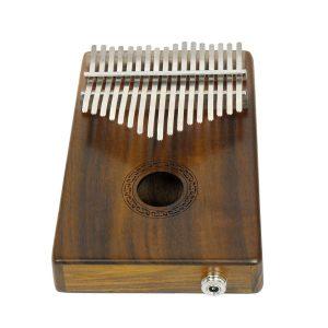 IRIN 17 Keys Kalimba Acacia Finer Thumb Piano Finger Piano med EQ