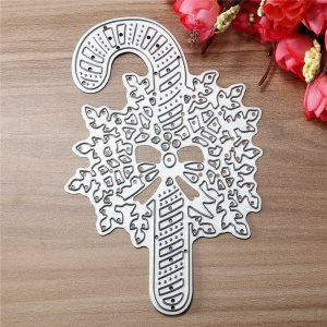 Christmas Stick Metal Die Cutting DIY Scrapbook Fotopapper Gift Party Decor