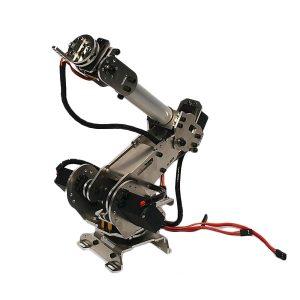 6DOF SNAM1100 Hard Alloy DIY Robot Arm med 4 st MG996R Servo 2 st MG90S Servo
