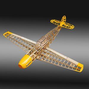 BF109 Fighter 1020mm Wingspan Balsa Wood Model Aircraft Kit