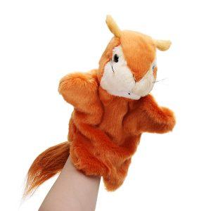 27cm fylld djur ekorre sagor handduk klassiska barn figur leksaker plysch djur