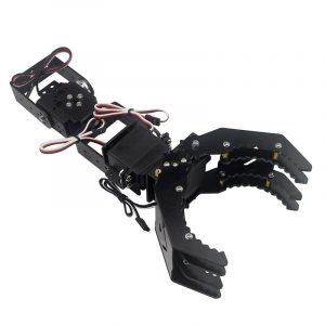 DIY 4DOF Robot Arm Claw Holder Med Arduino 4st Digitalt Servo