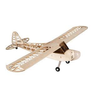 Balsawood J-3 J3 Laser Cut 1180mm Wingspan Glazing Ang Cowl RC Flygplan KIT V2