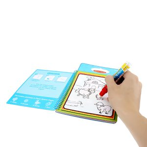 Coldplay Magic Children Water Drawing Book med 1 Magic Pen / Coloring Book Water Painting Board