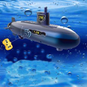 RC Mini Submarine 6 kanaler fjärrkontroll under vatten fartyg modell barn leksak