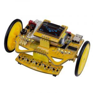 SunFounder RollbotMicro Infrared Sensor OLED Educational Robotics Bilmonteringssats GUI-Mixly för Arduino