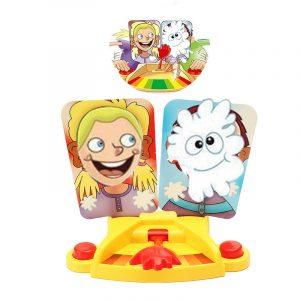 Double Cream Hit Face Smashing Machine Fun Gadget Toy För Barn Barn Födelsedagspresent