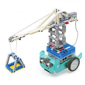 DIY Smart Robo3 Mio STEAM Robotbil APP Control Programmerbar Med Expansionspaket