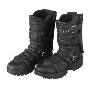 1/6 Scale Male Solid Boots Action Figur Falcon Combat Skor Svart För Docka