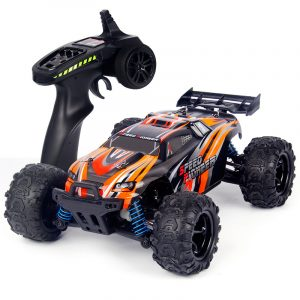 Dadgod 9302 1/18 2.4G 4WD High Speed ​​Racing RC Bil Offroad Road Truggy Vehicle RTR Leksaker