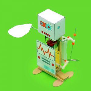 DIY Elektriska Fans Robot DIY Educational Robot Toy Sammansatt Toy för barn Barn