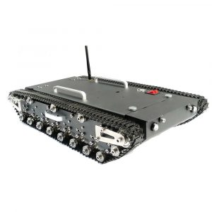 Uppgraderad WT-500S Smart RC Tracked Tank RC Robot Car Base Chassis
