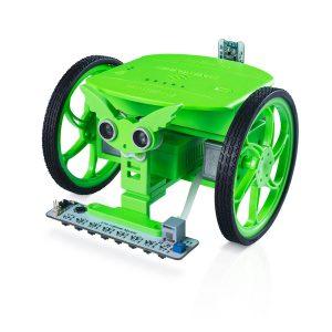 SunFounder SF-Rollman STEM Educational DIY Rollman Robot Programmering med Bluetooth Infraröd Ultraljudssensor