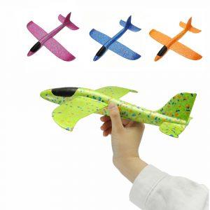 4PCS 35cm Stor Storlek Hand Lansering Kasta Flygplan Flygplan Glider DIY Tröghetsskum EPP Plane Toy