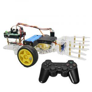 DIY självmonterad robotbilarm med trådlös PS2 fjärrkontroll Arduino Board