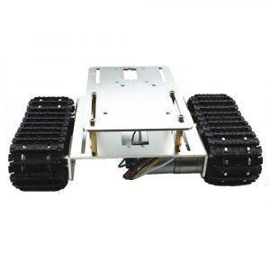 DIY A-16 Aluminous Smart Robot Tracked Car Chassis Base för Arduino Raspberry Pi