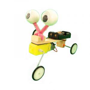 DIY Educational Electric Reptile Robot Scientific Uppfinning Leksaker