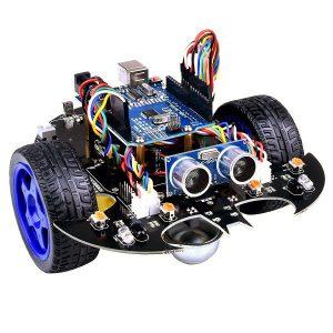 YahBoom Smart Bot Robot Intelligent Programmering Bluetooth Control Car Kit med Arduino UNO R3 Board