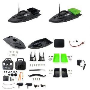 Flytec 2011-5 Generation Fiske Bait Rc Båt Kit utan Kretskort Batteri Motor Servo