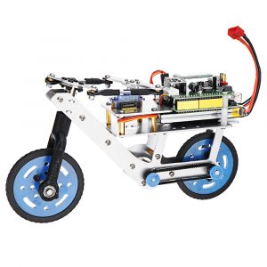 Arduino Programmerbar Smart RC Robot Bike Car Självbalans Bil APP Bluetooth Control Educational Kit