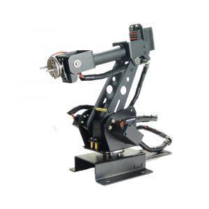 6DOF Metal RC Robot Arm AB Industriell Robot Arm Med 6 Servo För Arduino / Bluetooth Control