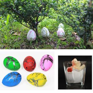 4 × 3,5cm Medium Eggs Funny Magic Growing Hatching Dinosaur Egg Christmas Christmas Gifts