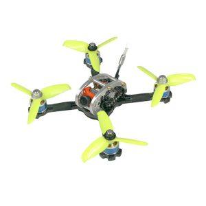 KINGKONG / LDARC FPV EGG PRO 138mm RC FPV Racing Drone PNP W / F4 4in1 20A 25mW / 100mW 16CH CCD600 CAM