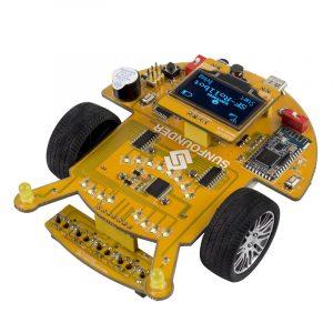 SunFounder SF-Rollbot STEM Learning Educational DIY Robot Grafisk programmering för Arduino Nybörjare