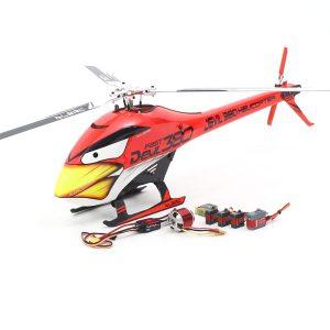 ALZRC Devil 380 FAST Tre Blade Rotor TBR Helikopter Super Combo