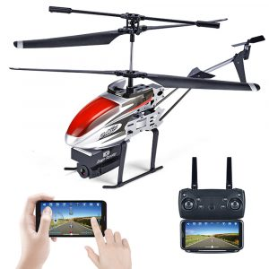 KY808 KY808W 2.4G 4CH 6 Aixs Hover Altitude Hold Wifi APP Kontroll RC Helikopter Med HD-kamera