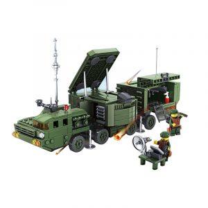 Kazi Krig Stridsvagn Byggnad Blockuppsättningar  Leksaker Pedagogisk Fidget Leksaker 539 st