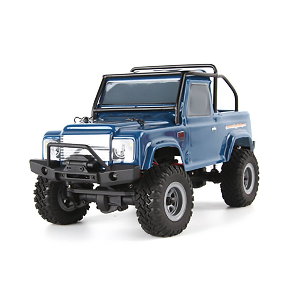 Prima URUAV 1/24 4WD 2.4G Mini RC Bil Crawler Modell Fordon Vattentät DW-72