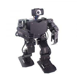 LOBOT + Raspberry Pi 3B + Programmerbar Wifi Smart HD Kamera Spårning RC Robot APP / Stick Control