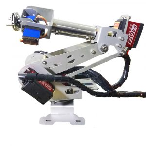 6DOF DIY RC Robot Arm Utbildning Robot Kit Med Digital Servo