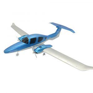 GD-006 DIY EPP 548mm Wingspan DIY RC Flygplan RTF Inbyggt batteri