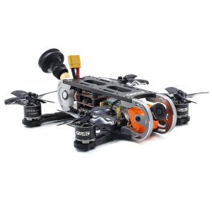 Geprc GEP-CX Cygnet 115mm 2 tums RC FPV Racing Drone Stabil F4 20A 48CH RunCam Split Mini 2 1080P HD