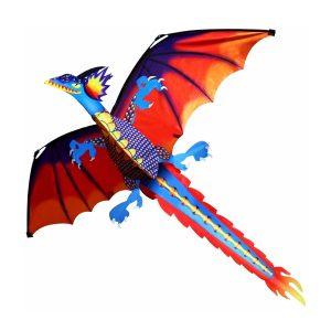 55 tums söt klassisk drake kite 140cm x 120cm singellinje drake med svans