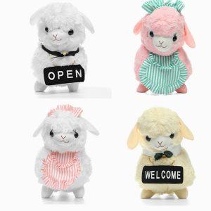 45cm Animal Plush Fylld Alpaca Housemaid Mjukt Animal Doll Toy Julklappar Stor Storlek