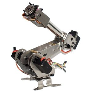 DIY 6DOF Metal Robot Arm 6 Axelrotationsmekanisk Robot Arm Kit